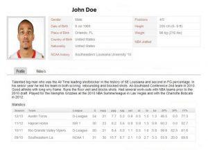 Basketball Resume Shine With a Little Polish